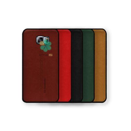 خرید کاور چرمی گوشی سامسونگ Samsung Galaxy S6 Edge مدل K2