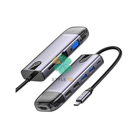 خرید هاب 10 پورت USB-C مک دودو مدل HU-7420