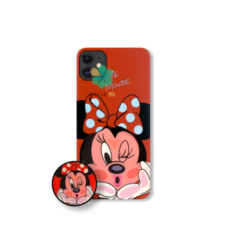 خرید قاب گوشی اپل آیفون Apple iPhone 12 Mini طرح Minnie Mouse