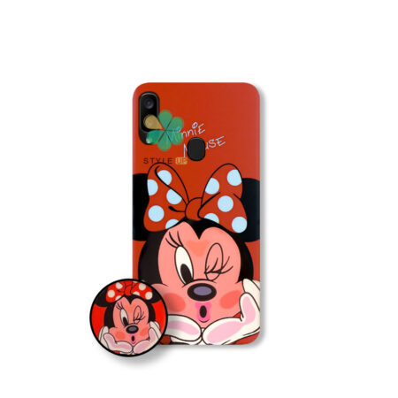 خرید قاب گوشی سامسونگ Samsung Galaxy A20 طرح Minnie Mouse