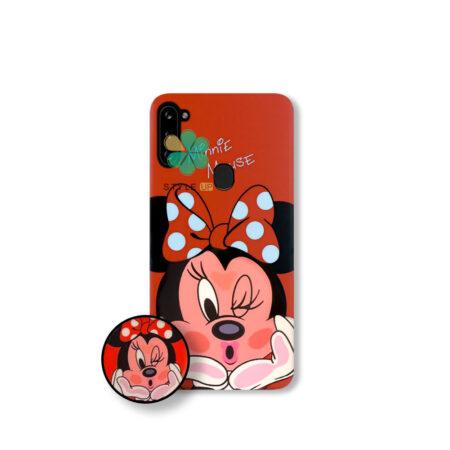 خرید قاب گوشی سامسونگ Samsung Galaxy M11 طرح Minnie Mouse