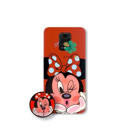 خرید قاب گوشی شیائومی Redmi Note 9 Pro Max طرح Minnie Mouse