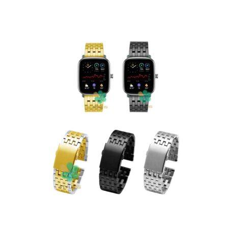 خرید بند ساعت هوشمند آمازفیت Amazfit GTS 2 Mini مدل Morellato