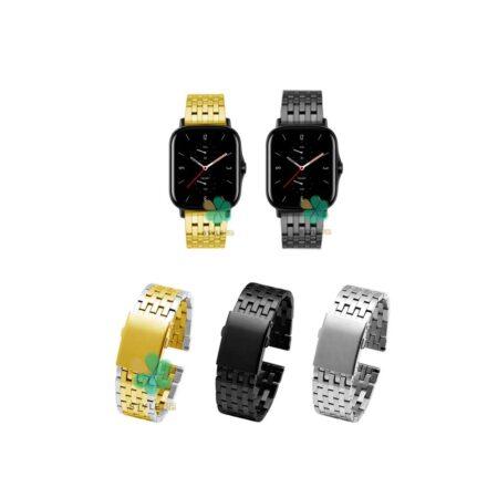 خرید بند ساعت هوشمند آمازفیت Amazfit GTS 2e مدل Morellato