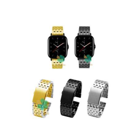 خرید بند ساعت هوشمند شیائومی Xiaomi Amazfit GTS 2 مدل Morellato