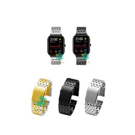 خرید بند ساعت هوشمند شیائومی Xiaomi Amazfit GTS مدل Morellato