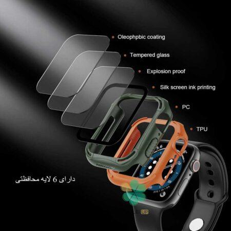 خرید بامپر و کاور ساعت هوشمند اپل واچ Apple Watch 44mm برند نیلکین