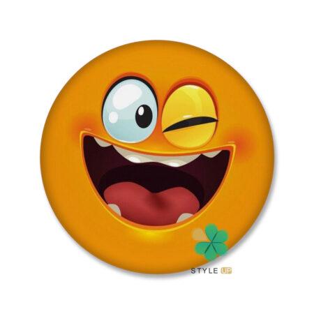 خرید هولدر و پاپ سوکت گوشی طرح Smiley