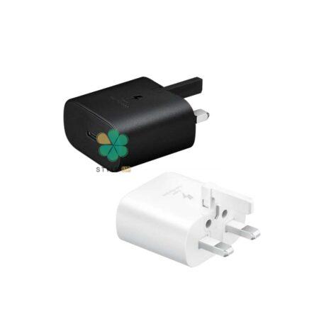 خرید آداپتور فست شارژر اصلی سامسونگ سری گوشی های پرچم دار