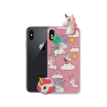 خرید قاب گوشی اپل آیفون Apple iPhone X / XS طرح Unicorn
