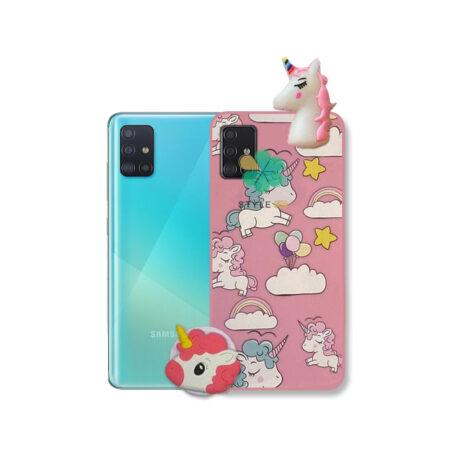 خرید قاب گوشی سامسونگ Samsung Galaxy A71 طرح Unicorn
