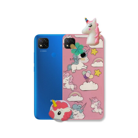 خرید قاب گوشی شیائومی Xiaomi Redmi 9C طرح Unicorn