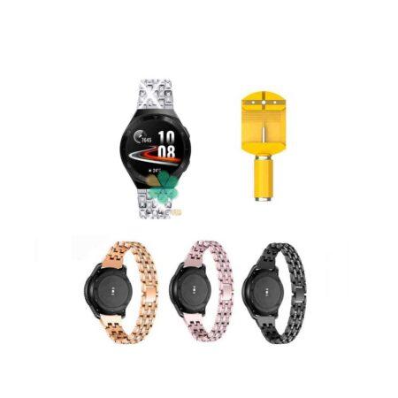 خرید بند استیل ساعت هواوی واچ Huawei Watch GT 2e مدل Wearlizer