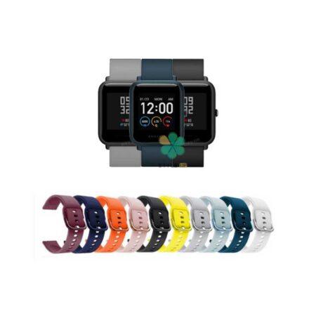 خرید بند ساعت شیائومی Xiaomi Amazfit Bip S مدل سیلیکونی نرم