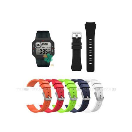 خرید بند سیلیکونی ساعت شیائومی Xiaomi Amazfit Neo طرح گلکسی