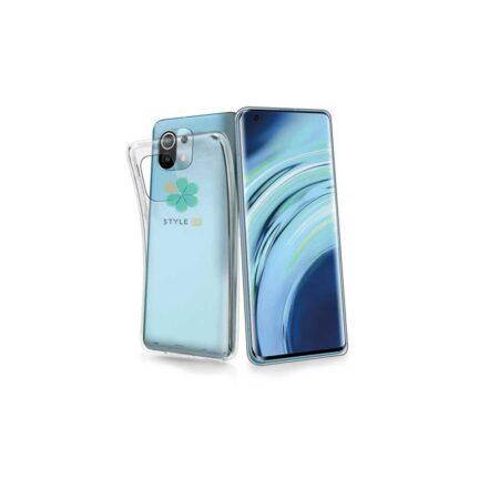 خرید قاب گوشی شیائومی Xiaomi Mi 11 مدل ژله ای شفاف