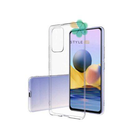 خرید قاب گوشی شیائومی Xiaomi Redmi Note 10 مدل ژله ای شفاف
