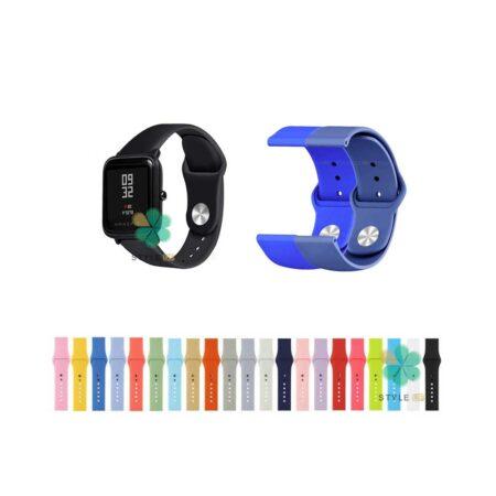 خرید بند سیلیکونی ساعت شیائومی Amazfit Bip Lite مدل دکمه ای