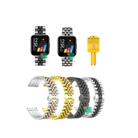 خرید بند فلزی ساعت ریلمی واچ Realme Watch مدل 5Rows