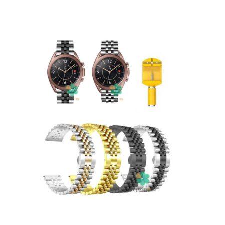خرید بند فلزی ساعت سامسونگ Galaxy Watch 3 41mm مدل 5Rows