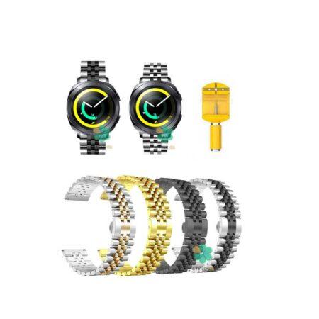 خرید بند فلزی ساعت سامسونگ Samsung Gear Sport مدل 5Rows