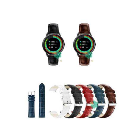 خرید بند چرمی ساعت شیائومی Xiaomi IMILAB KW66 طرح Alligator