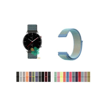 خرید بند ساعت امازفیت Amazfit GTR 2e مدل نایلون لوپ