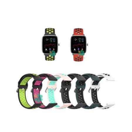 خرید بند ساعت امازفیت Amazfit GTS 2 Mini مدل نایکی سگکی