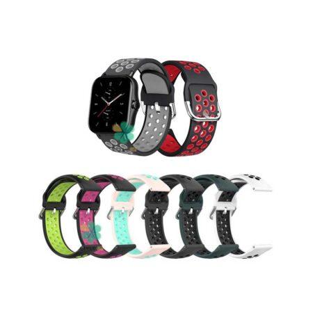 خرید بند ساعت امازفیت Amazfit GTS 2e مدل نایکی سگکی