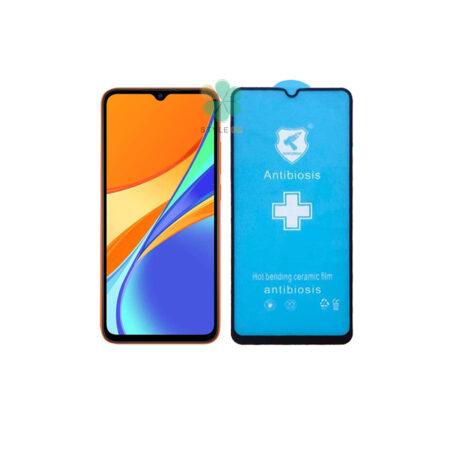 خرید گلس سرامیکی گوشی شیائومی Xiaomi Redmi 9C مدل Anti Biosis