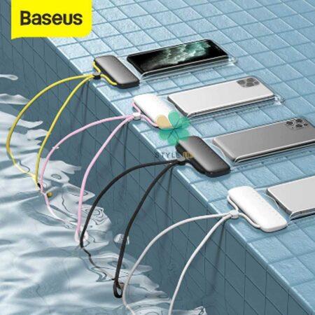 عکس کیف و کاور ضد آب گوشی بیسوس Baseus Slip Cover ACFSD-D24