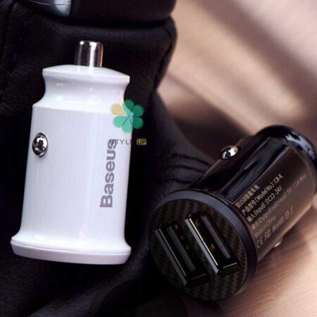 عکس شارژر فندکی ماشین بیسوس مدل Baseus CCAL-ML01