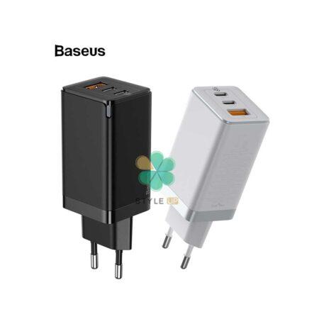 خرید آداپتور شارژر سریع بیسوس مدل Baseus GaN2 Pro 65W