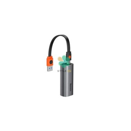خرید مبدل دو طرفه بیسوس مدل Baseus USB A & Type-C To RJ45 LAN Adapter CAHUB-AF0G