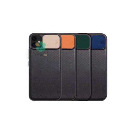 خرید کاور ضد ضربه گوشی اپل آیفون Apple iPhone 12 مدل کم شیلد رنگی