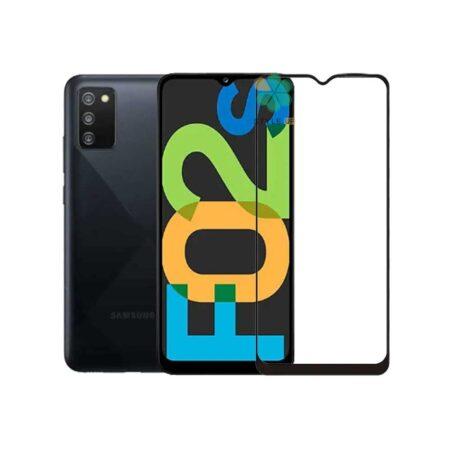 خرید گلس سرامیکی گوشی سامسونگ Galaxy F02s مدل تمام صفحه