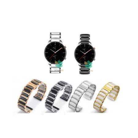 خرید بند ساعت امازفیت Amazfit GTR 2e مدل سرامیکی Monowear