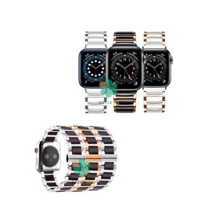 خرید بند ساعت اپل واچ Apple Watch 38/40mm مدل سرامیکی Monowear