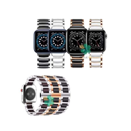 خرید بند ساعت اپل واچ Apple Watch 42/44mm مدل سرامیکی Monowear