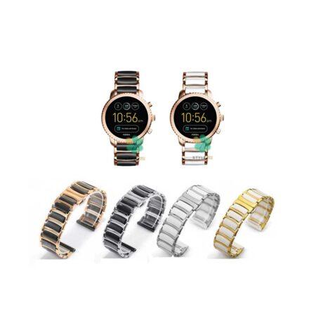 خرید بند ساعت فسیل Fossil Q Explorist Gen 3 مدل سرامیکی Monowear