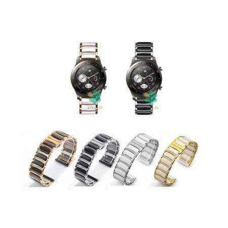 خرید بند ساعت هواوی Huawei Watch 2 Classic مدل سرامیکی Monowear