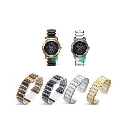 خرید بند ساعت ال جی LG Watch Urban Luxe مدل سرامیکی Monowear