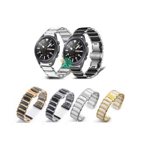 خرید بند ساعت سامسونگ Galaxy Watch 3 45mm مدل سرامیکی Monowear