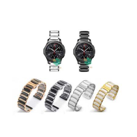 خرید بند ساعت سامسونگ Samsung Gear S3 مدل سرامیکی Monowear