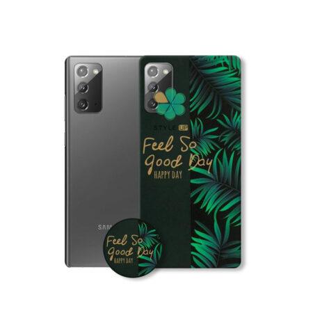 خرید قاب فانتزی گوشی سامسونگ Galaxy Note 20 طرح Feel So Good Day