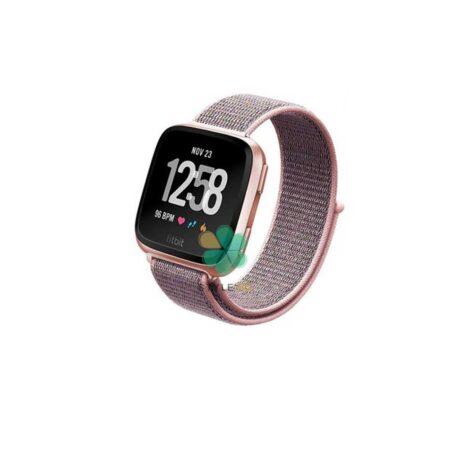 خرید بند ساعت فیت بیت ورسا Fitbit Versa مدل نایلون لوپ