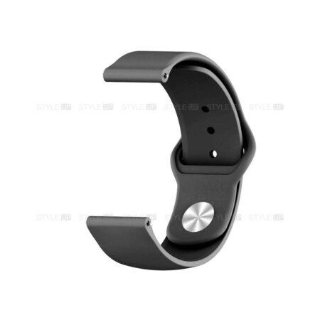 خرید بند سیلیکونی ساعت فسیل Fossil Q Explorist Gen 3 مدل دکمه ای