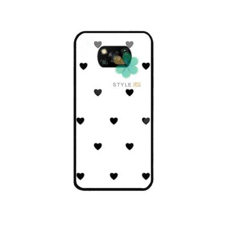 خرید قاب فانتزی گوشی شیائومی Xiaomi Poco X3 طرح Heart Pro