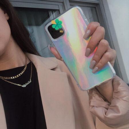 عکس قاب گوشی اپل آیفون Apple iPhone 12 Mini مدل هولوگرامی