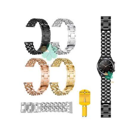 خرید بند ساعت هوشمند هواوی Honor Watch Dream مدل استیل زنجیری